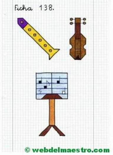 Dibujos en cuadrícula-Música-4