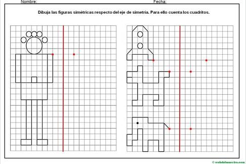 Dibujos simetricos en cuadricula-6