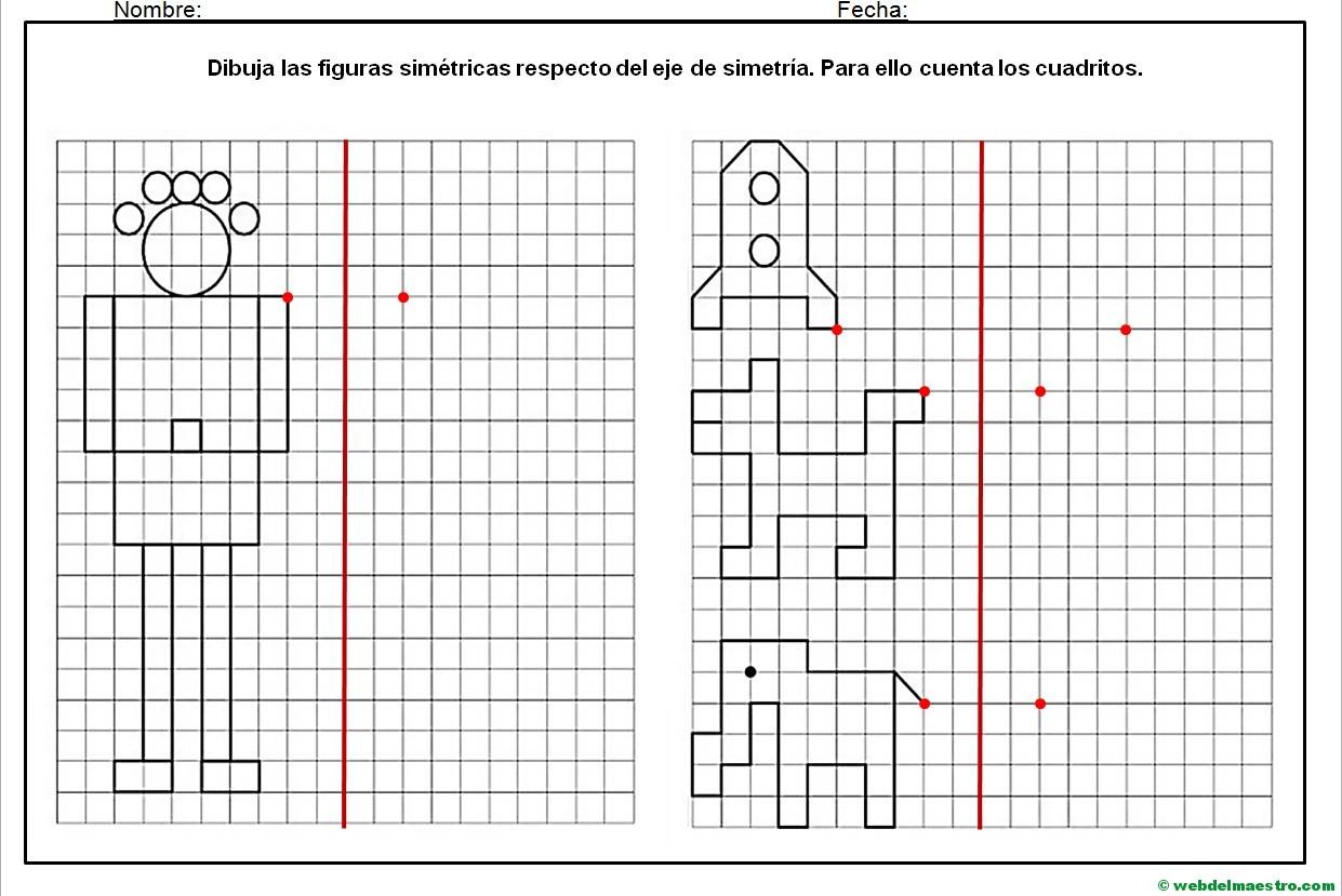 Hacer Plano Online Dibujos Simetricos En Cuadricula 6 Web Del Maestro