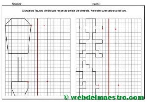 Dibujos simetricos en cuadricula-8