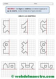 Figuras simetricas-Actividades
