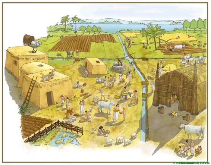La agricultura y la ganadería