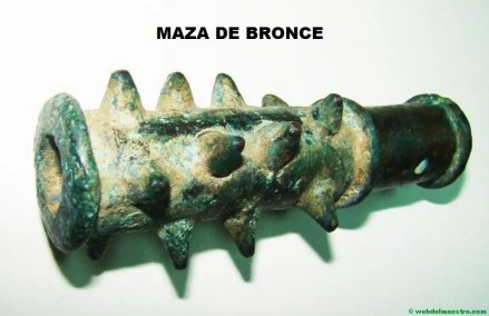 Maza de bronce
