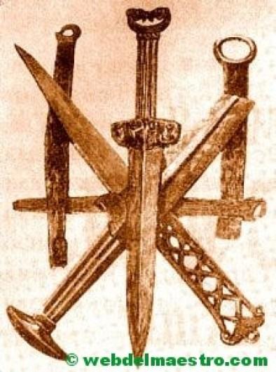 Prehistoria-armas de cobre