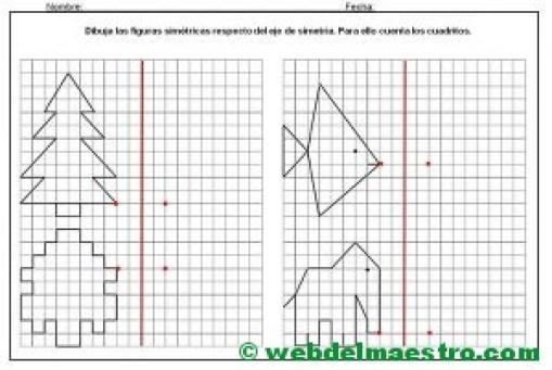 Simetria para niños de primaria-3