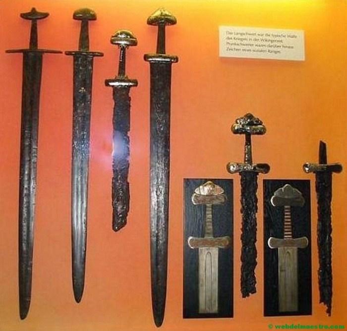 Tipos de espadas de hierro