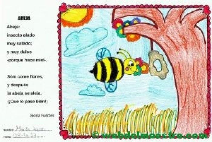 terminación de trabajos-abeja