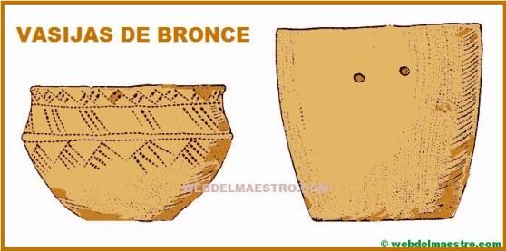 vasijas de bronce--