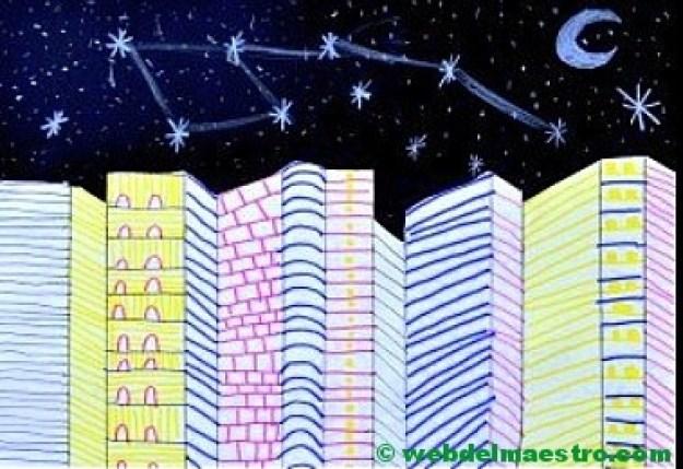Dibujos en 3d de ciudad-