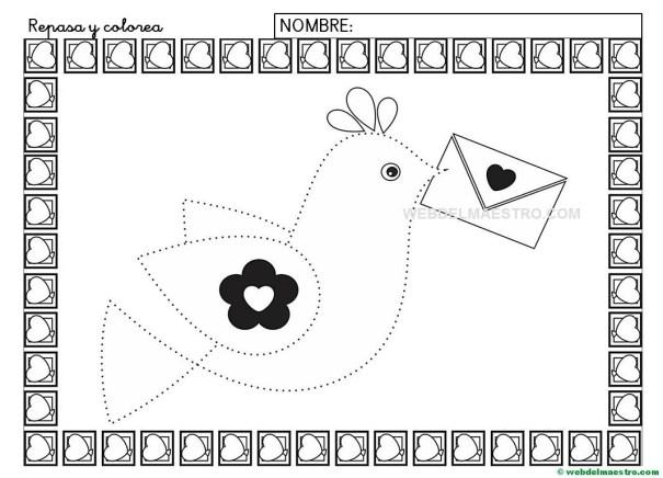 Ficha de grafomotricidad para imprimir-VI