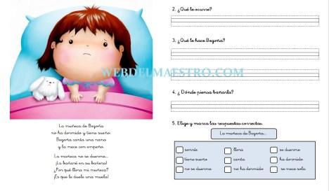 Lecturas infantiles con actividades-Letra Ñ