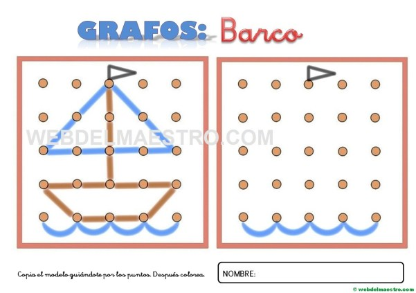 Dibujos para unir puntos-barco-2