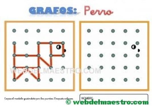 Grafos-Unir puntos-perro