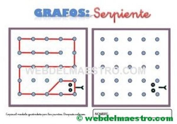 Grafos-Unir puntos-serpiente