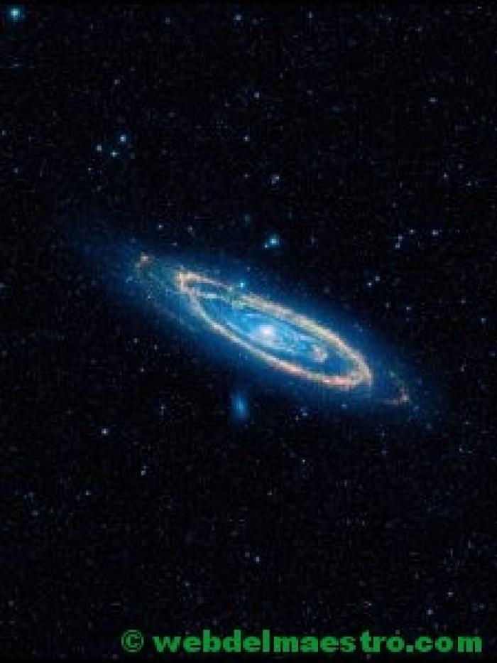 Galaxia con forma elíptica