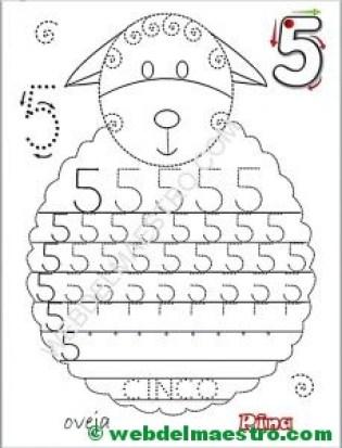 Grafomotricidad-números-5