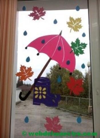 Ideas de otoño para decorar ventanas-3