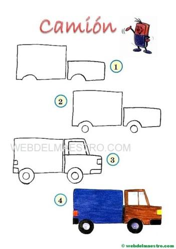 dibujos fáciles-camión