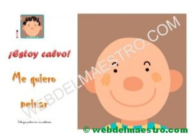 Ficha para niños de dos años- 2