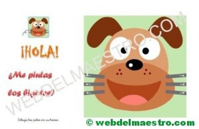 Ficha para niños de dos años- 3