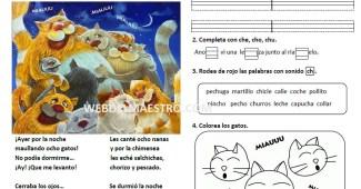 Lecturas infantiles-sonido ch