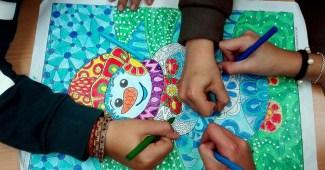 Dibujos De Navidad Coloreados Archives Web Del Maestro