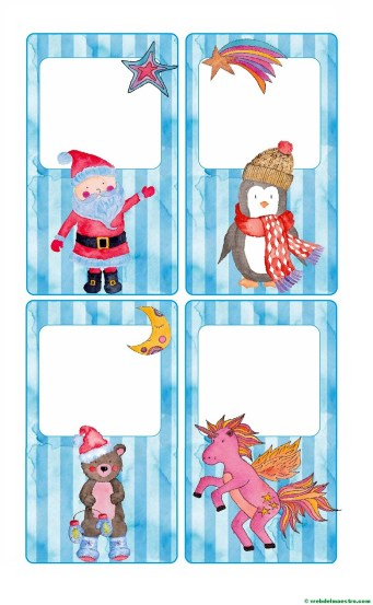 Felicitaciones navideñas-tamaño mediano-3