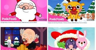 Inglés para niños-Historias de Navidad