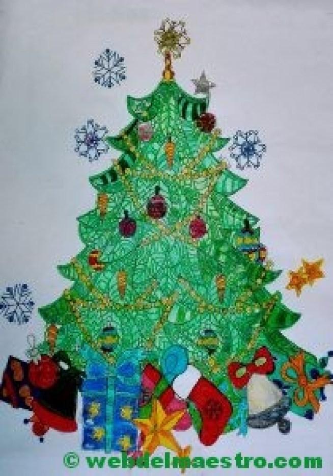 Terminación de trabajos-Arbol de Navidad