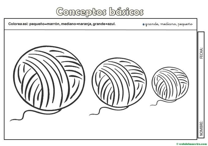 Conceptos Básicos Imágenes Y Actividades Web Del Maestro