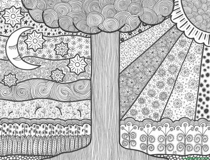 Dibujo nº 1- El día y la noche