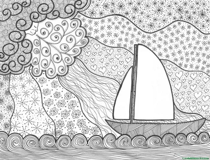 Dibujo nº 13-El barco y el viento