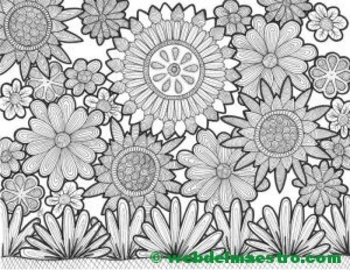 Dibujo nº 3- Las flores