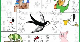 Aprender a dibujar paso a paso
