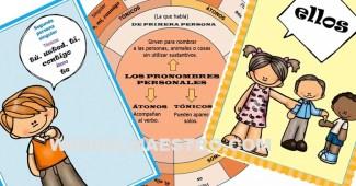 Pronombres personales concepto, esquemas y actividades