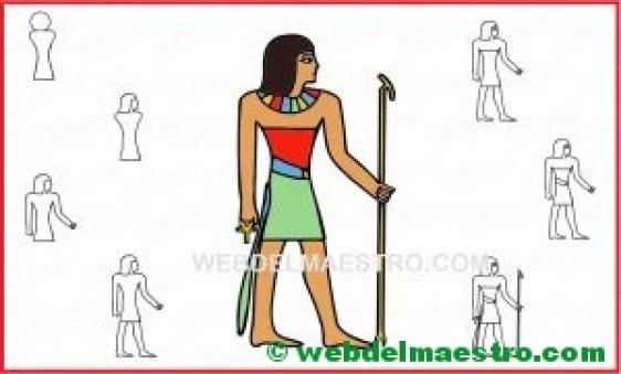 aprender a dibujar un dios egipcio-