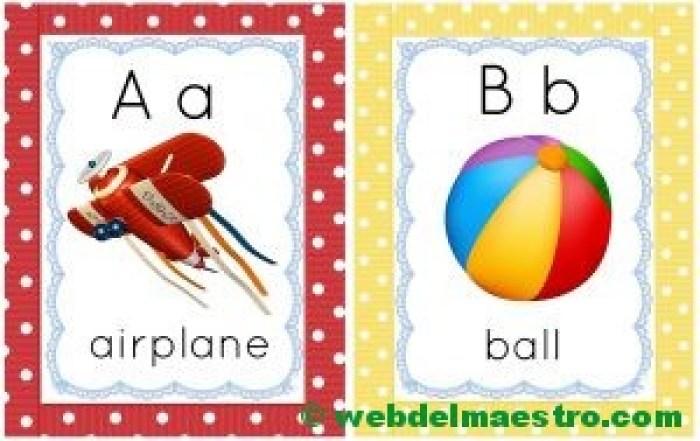 letras a-b