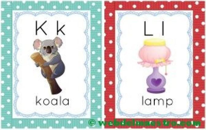 letras k-l