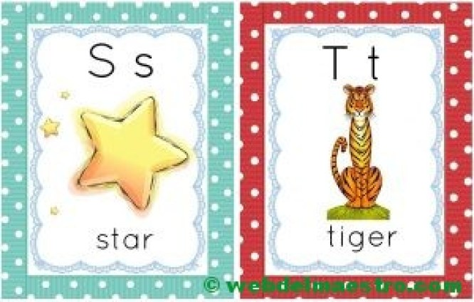 letras s-t