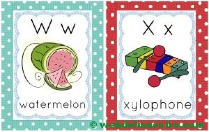 letras w-x