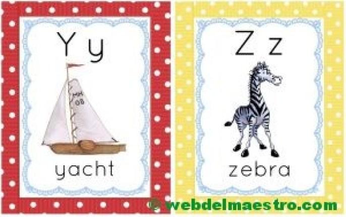 letras y-z