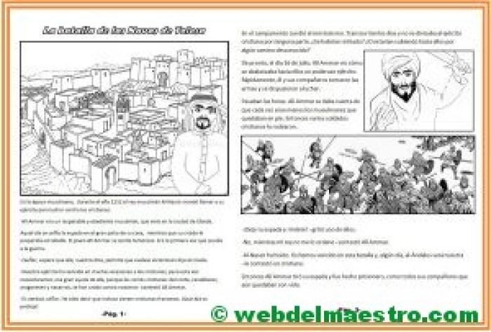 Comprensión lectora-La batalla de las Navas de Tolosa-