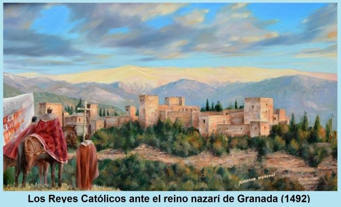 Los reyes católicos ante el reino nazarí de Granada