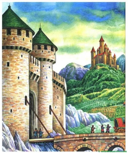 castillo medieval en Europa central