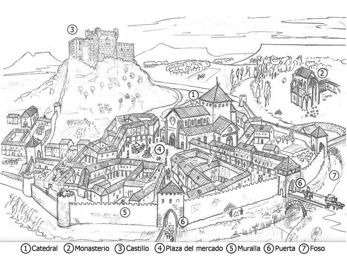 ciudad medieval--