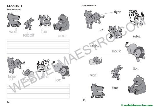 Actividades de inglés para niños - Web del maestro