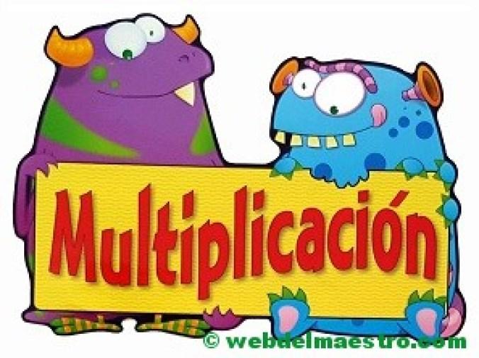 cartel de la multiplicación-