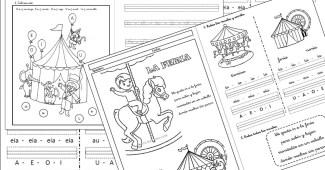 lectoescritura-actividades para imprimir