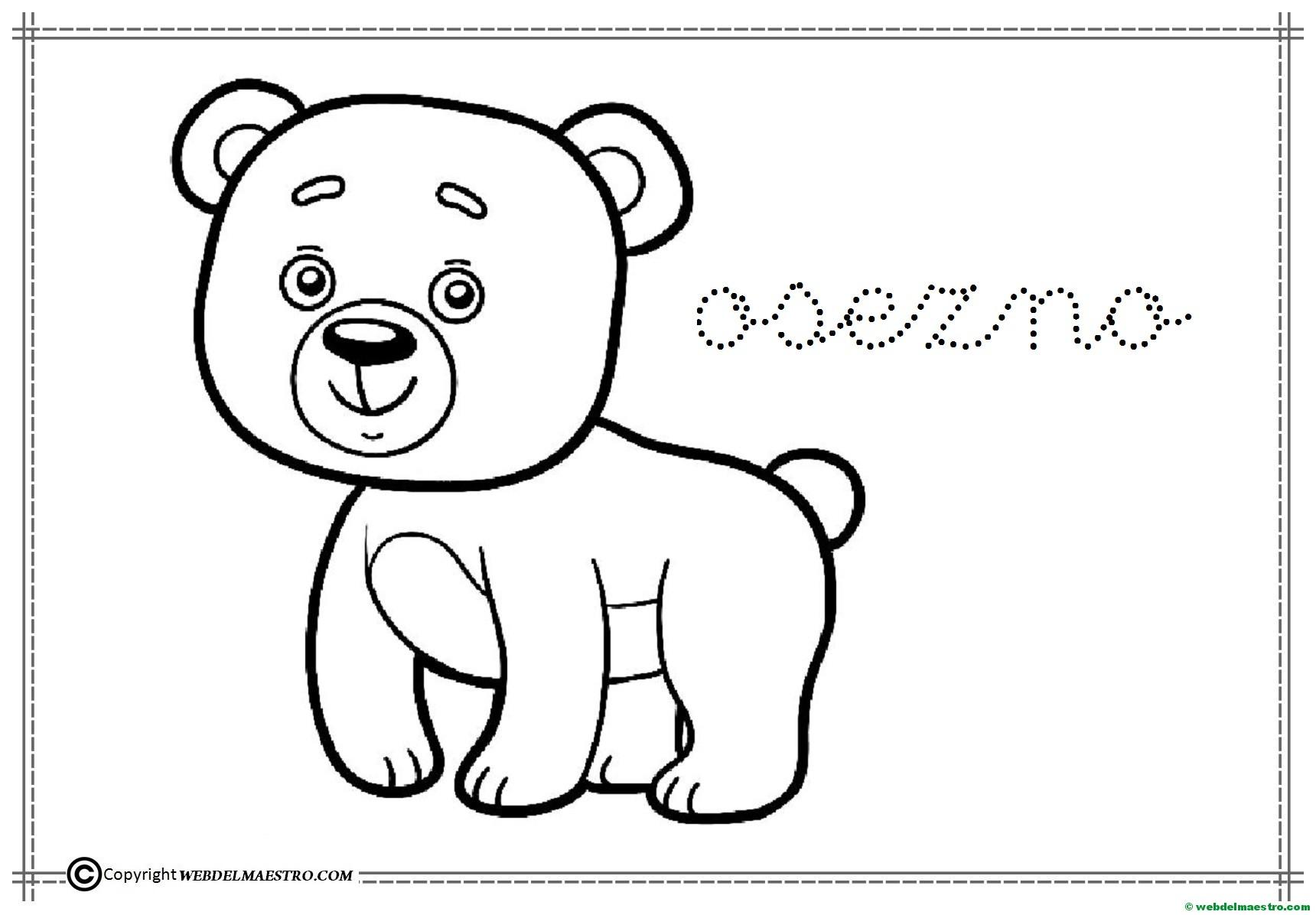 Dibujos Para Colorear Infantiles Dibujos Personajes: Dibujos Para Colorear Fáciles