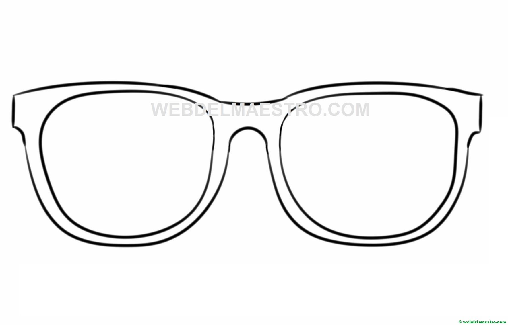 Gafas Para Recortar Web Del Maestro